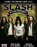 Crítica del concierto de Slash featuring Myles Kennedy & The Conspirators en Sant Jordi Club (Barcelona) el 12 de Marzo de 2019